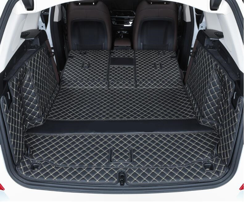 3D Luxury Full Rear Trunk Tray Liner Cargo Mat Protector Pad Mats For <font><b>BMW</b></font> <font><b>X3</b></font> <font><b>G01</b></font> <font><b>2018</b></font> 2019 2020 2021 Year image