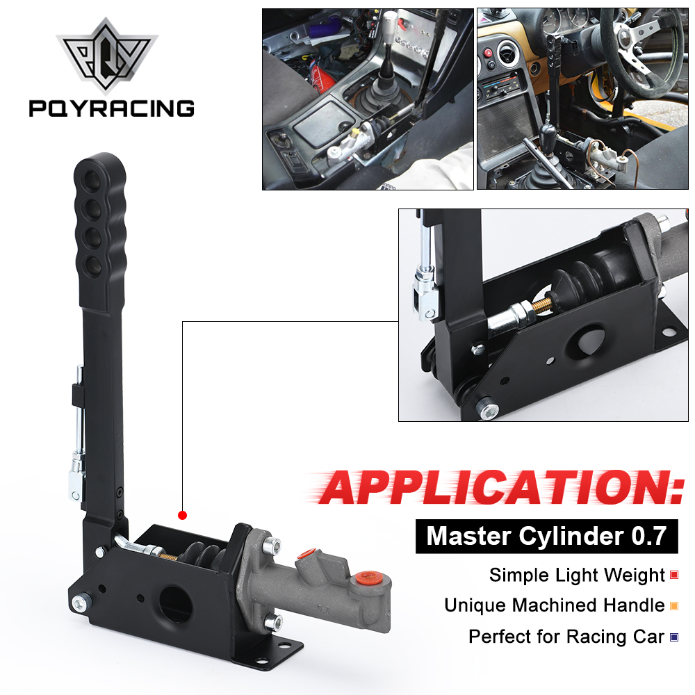 Pqy-cilindro mestre de freio hidráulico 0.70, tipo vertical profissional, tipo wrc, corrida de drifting pqy3631