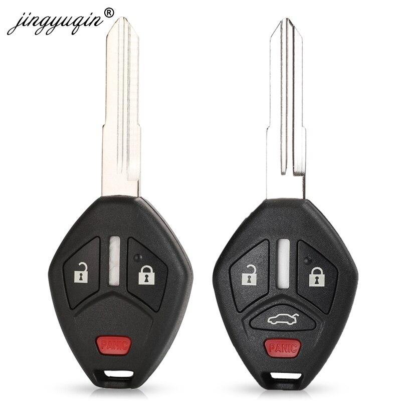 Fob for Mitsubishi Lancer Outlander Endeavor Galant MIT11R Blade Remote Key Shell Case 3+1 Buttons Car Key Style