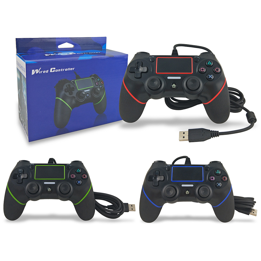 Wired Gamepad For Play station PS4 Controller Joystick Joypad Controle for DualShock Vibration Joystick for Play station 4