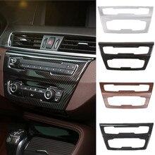 Auto interior do carro centro painel decoração capa quadro decoração guarnição adesivo para bmw x1 f48 20i 25i 25l x2 f39 2016-2019