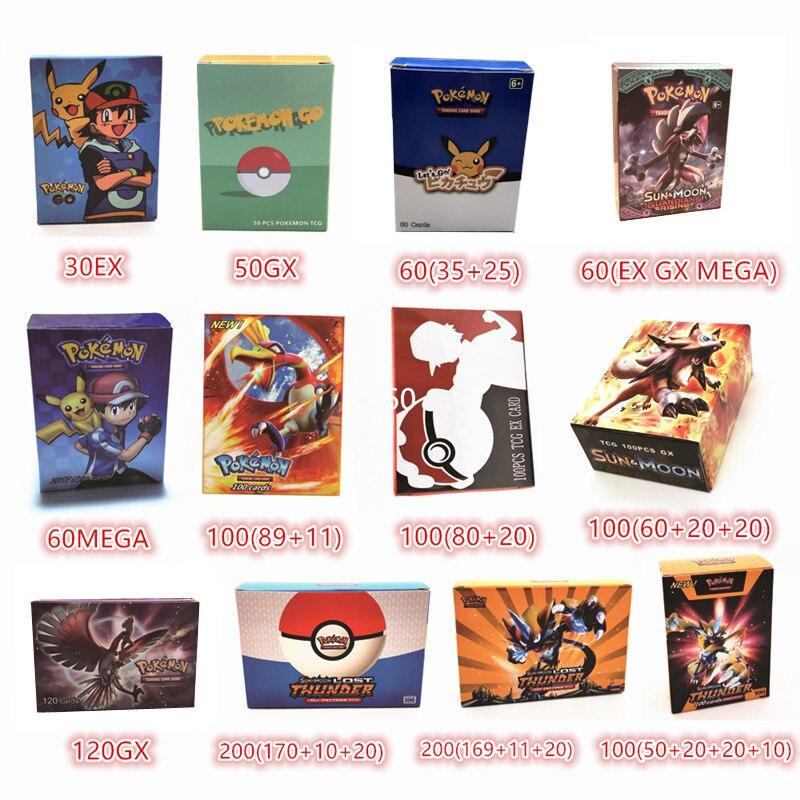 Anime New Pokemon Card 2019 English Pet Elf Battle Card GX MEGA Pocket Monster Game Collection Children's Gifts For Christmas
