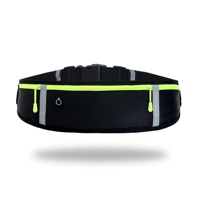 Sport Reflective Waist Bag Multi-function Portable Running Leisure Waterproof Mobile Phone Bag