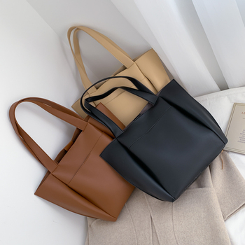 Hot sale women handbag large capacity shoulder bags   5