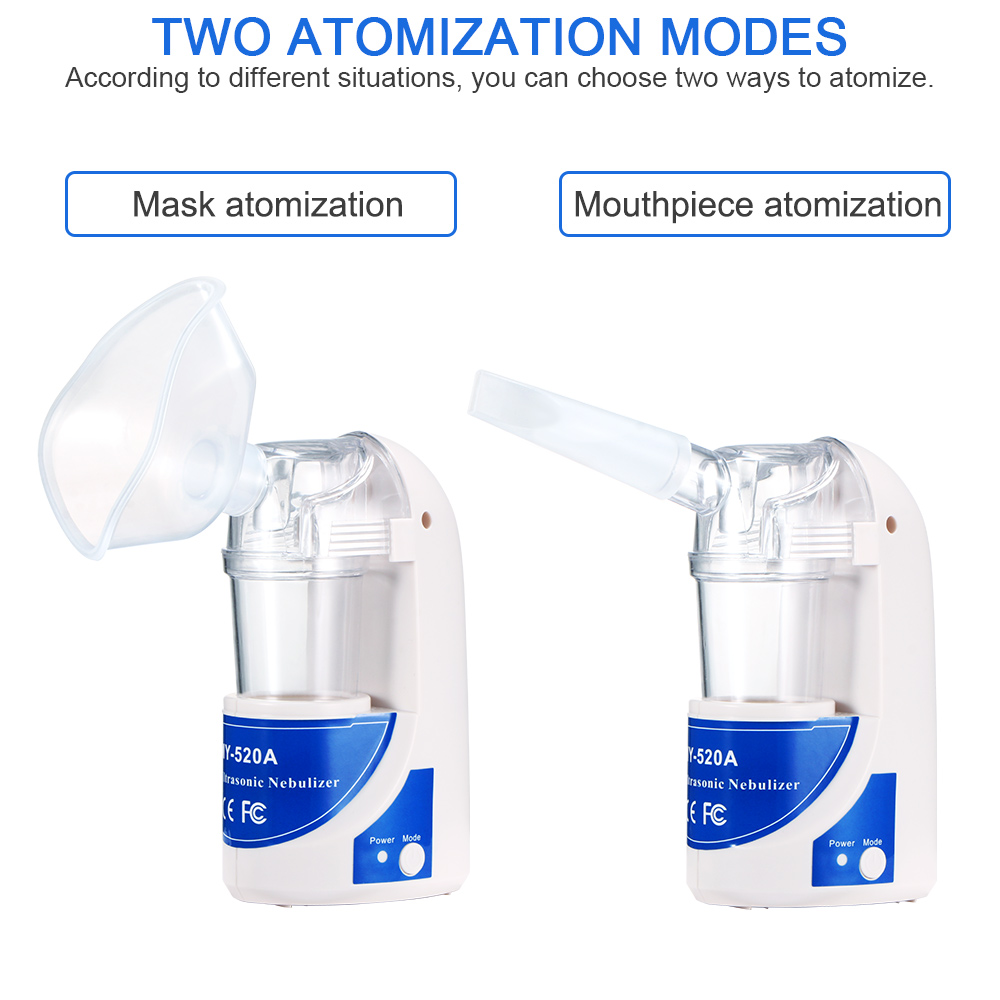Family Ultrasonic Nebulizer Compact Portable Inhaler Nebulizer