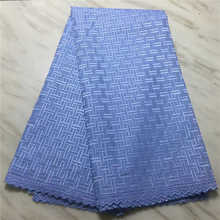 Factory Price African Lace Fabric 2019newest dry cotton lace Swiss Voile with Stones For Man Dress Winn388l