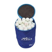 Портативный настольный теннис мяч Сумка Чехол Профессиональный Оксфорд Pingpong Padel аксессуары большой емкости может держать 200 шт мячей