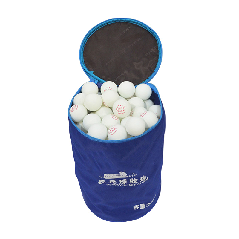 Portable Table Tennis Ball Bag Case Professional Oxford Pingpong Padel Accesorios Large Capacity Can Hold 200pcs Balls