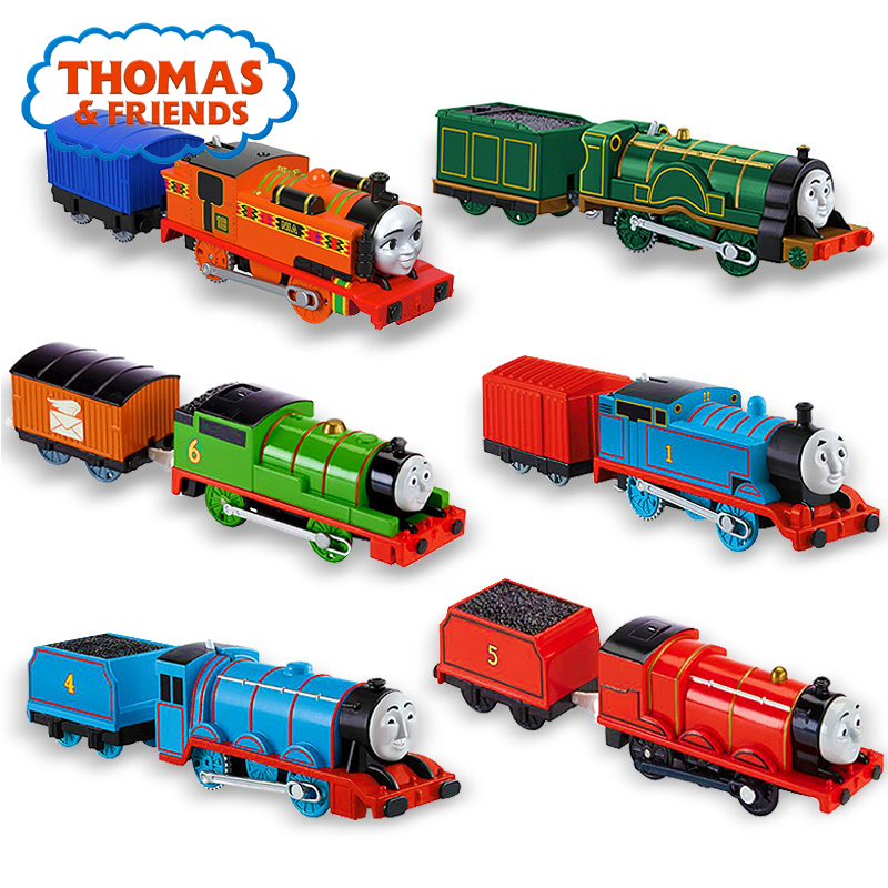 Train Toys Thomas & Friends Collectible Electric Series Toys Trackmaster Motorized Engine Alloy Train Toys Victor James BMK87