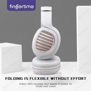 Image 4 - HIFI אלחוטי אוזניות Bluetooth אוזניות מתקפל סטריאו תמיכת TF FM AUX ספורט משחקי אוזניות עם מיקרופון עבור מוסיקה PUBG