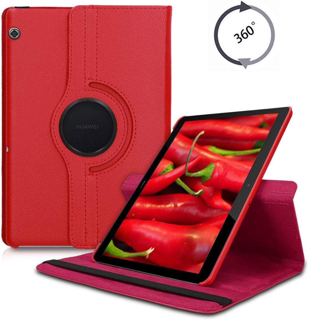 Вращающийся на 360 градусов чехол для huawei MediaPad T5 10,1 Smart Cover MediaPad T5 10,1 AGS2-W09 AGS2-L09 AGS2-W19 Подставка для планшета