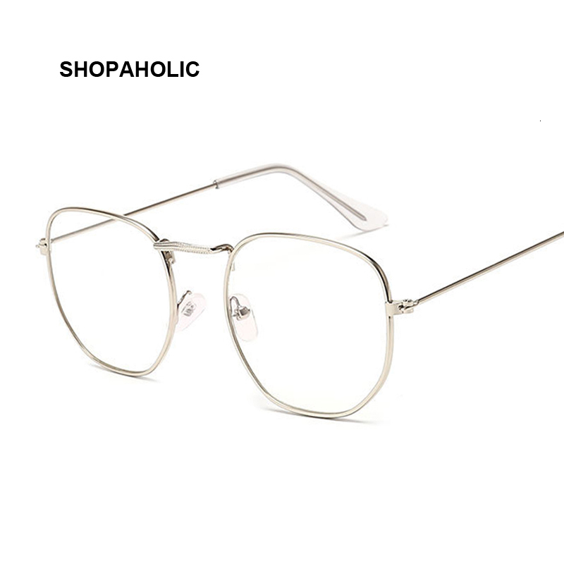 Retro Optical Glasses Men Computer Glasses Gaming Goggles Transparent Eyewear Frame Women Anti Eyeglasses Specs