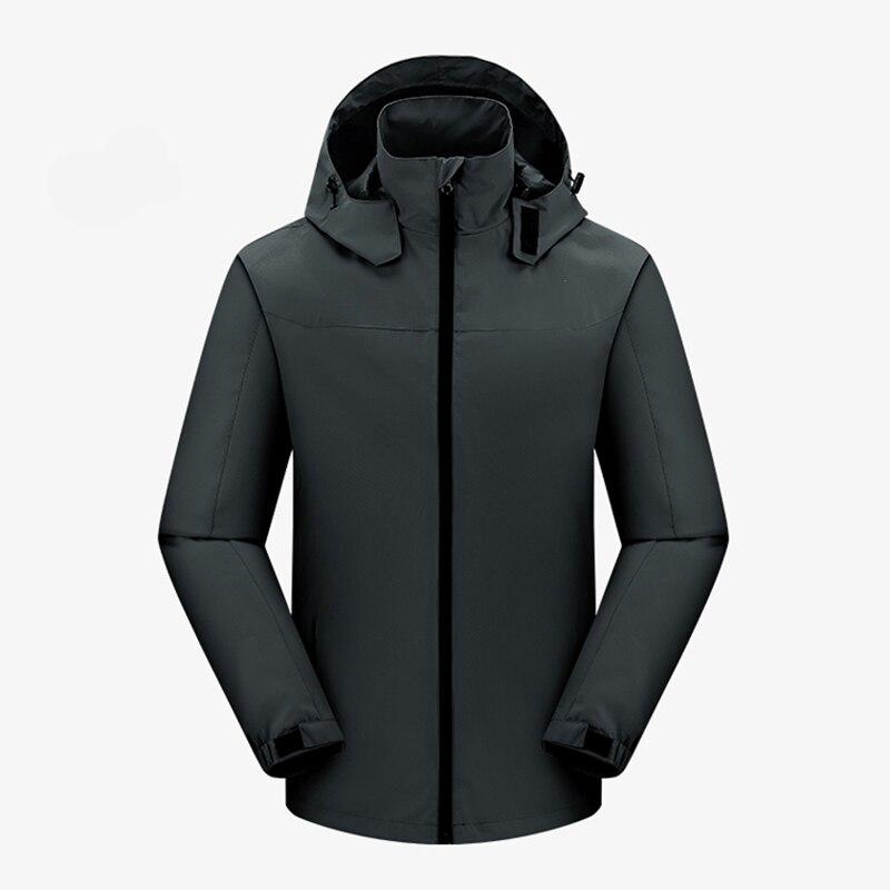 2018 Мужская зимняя утолщенная теплая куртка с капюшоном в стиле милитари, брендовая армейская зеленая куртка, Мужская хлопковая плотная кур... - 2