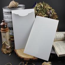 Wysoko spersonalizowany ekskluzywny biznes ślubny 250g gruby pozłacany lód biały perłowy papier koperta tanie tanio CRANEKEY CN (pochodzenie) customized 250ZG006-2 Okna koperty Zwykłym papierze Biznes koperta