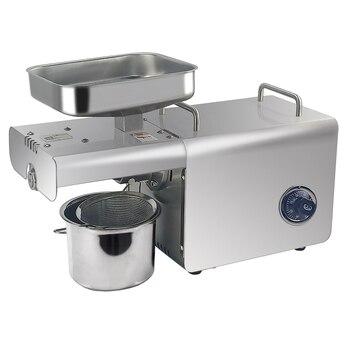 Мини-автоматическая машина для холодного отжима масла с контролем температуры, маслоотделитель Из Нержавеющей Стали Для Экстракции Масла ...