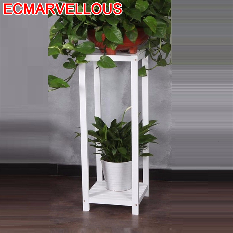 Wood Scaffale Porta Piante Soporte Plantas Interior Ladder Pot Varanda Balcony Rack Stojak Na Kwiaty Flower Shelf Plant Stand