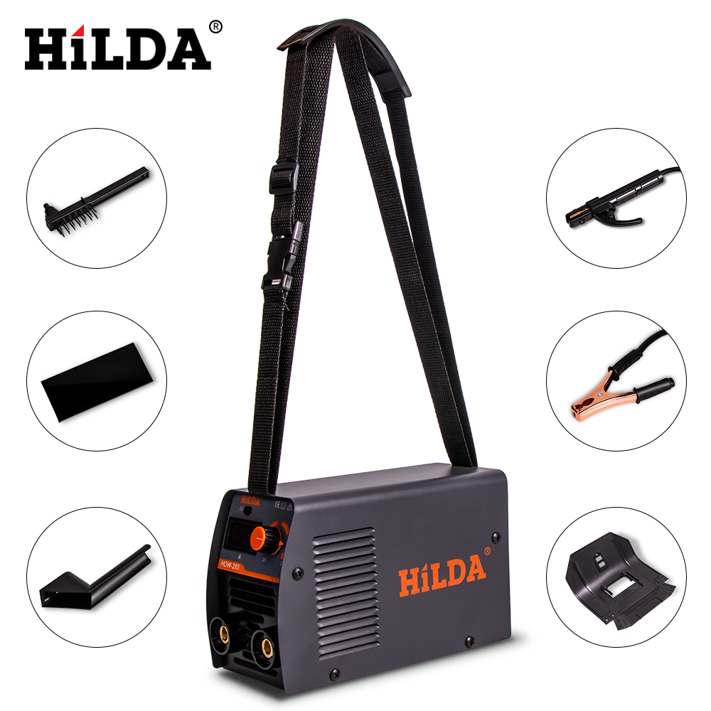 Image 2 - HILDA Welding Equipment Arc Welders Portable Welding Machine Efficient Inverter ARC Welder 220V AC for Home BeginnerArc Welders   - AliExpress