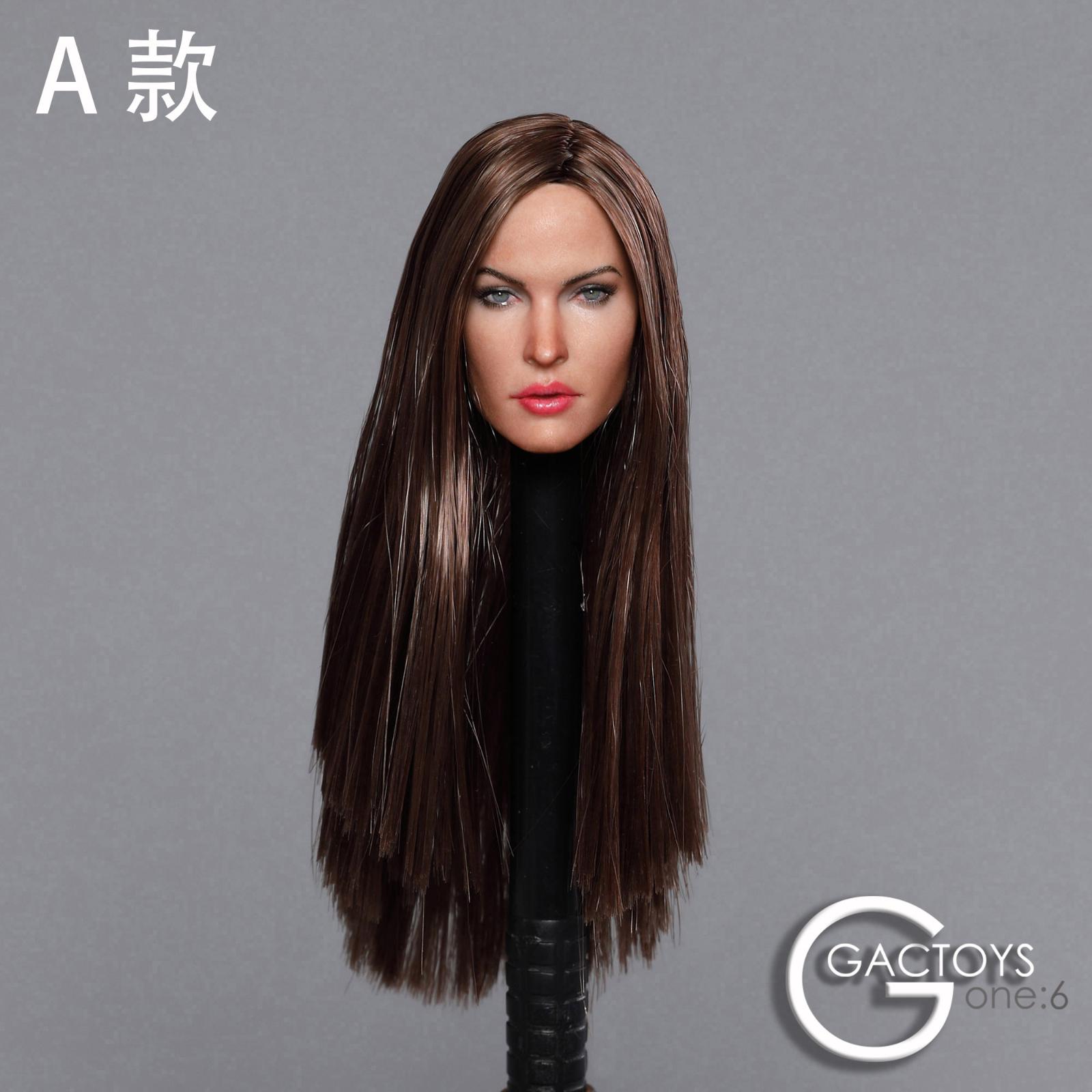 "1:6 Scale Joker Prisoner Ver Head Sculpt Model F 12/""Female  Body"