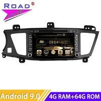 Roadlover Android 9.0 Car PC Multimedia DVD Player Radio For KIA K7 Cadenza 2009 Stereo GPS Navigation Automagnitol 2 Din Video