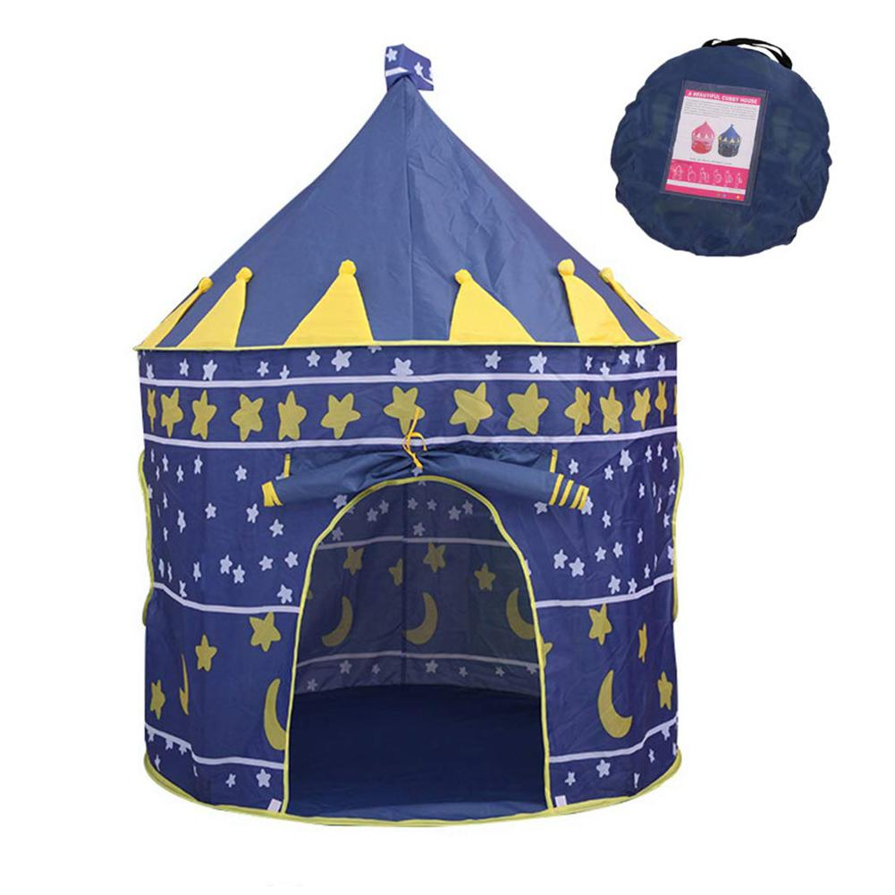 Portable Foldable Children Kids Game Play Tent Ball Pool Indoor Yurt Castle Playhouse Toy New