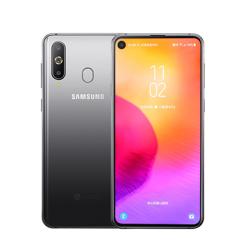 Samsung Galaxy A8s Smartphone 6.4 inch Snapdragon 710 Otca core 6GB 128GB Three Rear Cameras Face ID NFC Android 4G Mobile phone