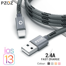 PZOZ usb cable for iphone cable 11 pro max Xs Xr X 8 7 6 plu