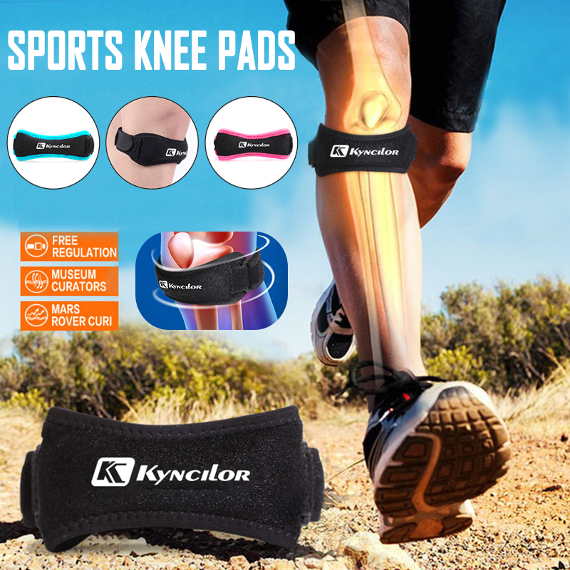 Adjustable Patella Knee Tendon Strap Protector Guard Reduced Pressure Sports Knee Brace Keenpads Sports