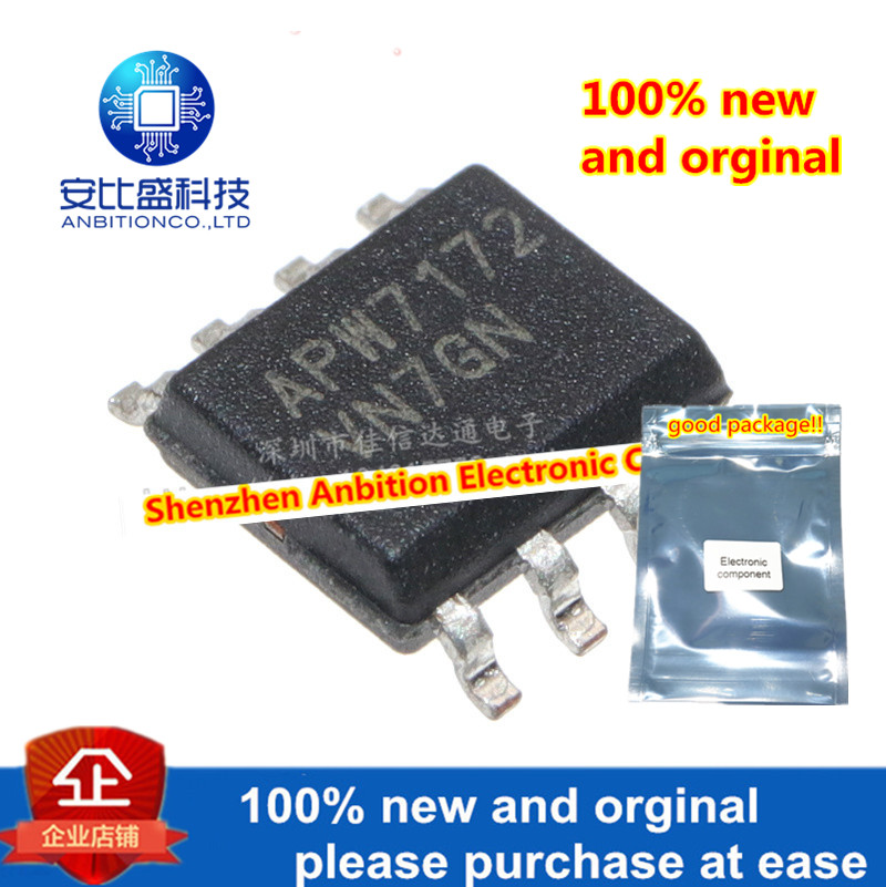 10pcs 100% New And Orginal APW7172 SOP-8 LCD Power Management Core In Stock