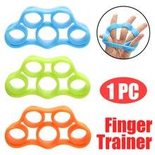 Silicone Finger Gripper Stretcher Hand Exerciser Resistance Bands Grip Strength
