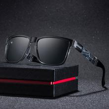 Fashion Women Men Large Polarized Coated Outdoor Driving Sports Sunglasses High Quality Big Wrap PC Square Frame Sunglasses