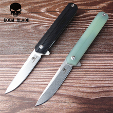 175 мм D2 лезвие шарикоподшипника ножи Складной нож G10 Ручка Открытый походный нож Охота Туризм Рыбалка EDC ручной инструмент