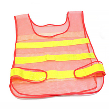 Ночная езда безопасность дорожного движения дышащая сетка автострады Предупреждение бег Регулируемая очистка высокая видимость куртка