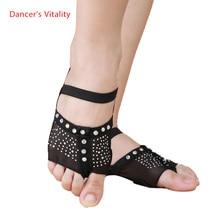 Женская танцевальная обувь для танца живота, обувь для танца ног, украшенная бриллиантами, размер 34-41(США 3,5-10,5) S, M, L, XL