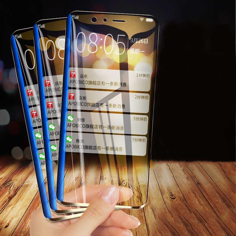 9H الزجاج المقسى لسامسونج غالاكسي S5 S6 S7 الزجاج واقي للشاشة HD فيلم واضح لسامسونج A3 A5 2016 J5 J7 2017 الزجاج