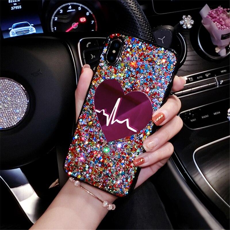 3D Love Phone Back Cover Case For Huawei P40 P30 P20 PRO P20 LITE P10 P Smart 2019 Nova 7I Nova 5T Mate 20 Lite Enjoy 10E