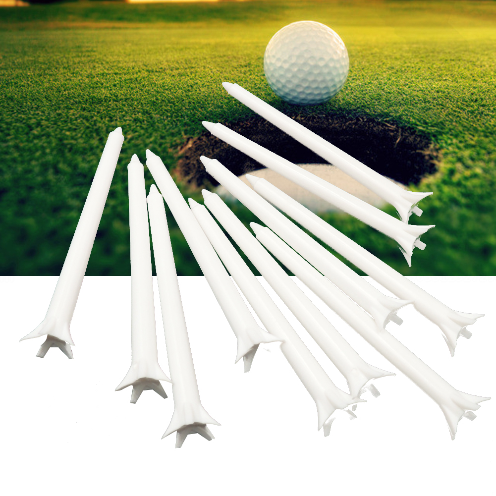 100Pcs Outdoor Easy Install Club Golf Tee Practice Claw Shape Mini Training Aids Sport Durable Ball Holder Low Friction Crown