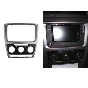 Image 5 - 2 Din Radio Fascia for Skoda Octavia Audio Stereo Panel Mounting Installation Dash Kit Trim Frame Adapter