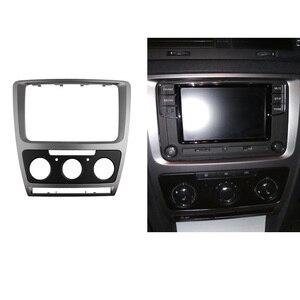 Image 5 - 2 Din radyo fasya Skoda Octavia için ses Stereo paneli montaj kurulum Dash kiti Trim çerçeve adaptörü