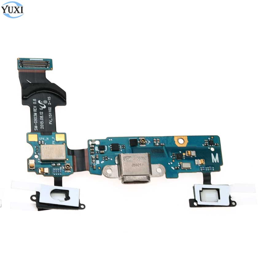 YuXi For Samsung Galaxy S5 Neo SM-G903F G903F G903M G903 USB Charger Connector Socket Charging Port Flex Cable(China)