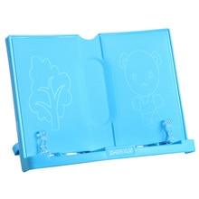 Shelf Tablet-Holder Books-Stand Reading Folding-Organizer Document Recipe Music Portable