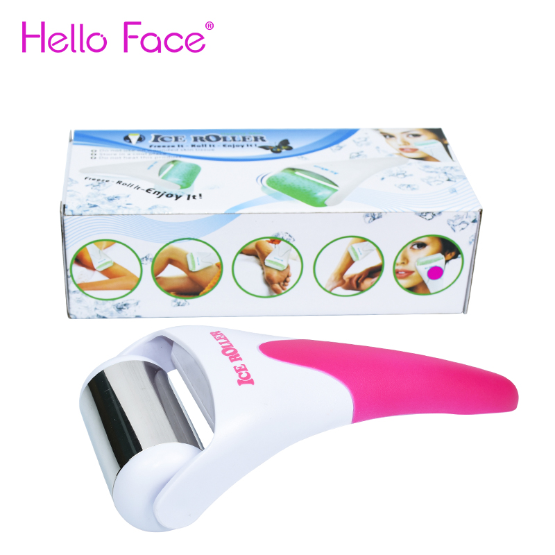 Facial Roller Ice Roller Face Massager Iced care Massager for Face & Eye  Puffiness Migraine Pain Relief and Minor Injury