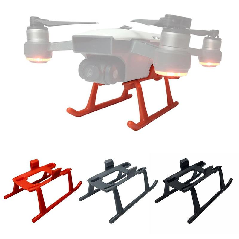 Landing Gear Kit Drone Lightweight Fast Release Foot Protection Part Protector For DJI Spark 3CM Height Extender Legs