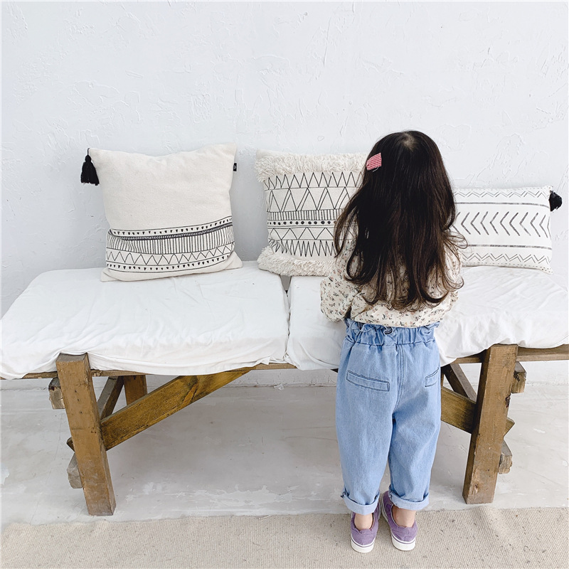 2020 Children's Jeans Spring Girls' High Waist Jeans Casual Pants Baby Girl pant