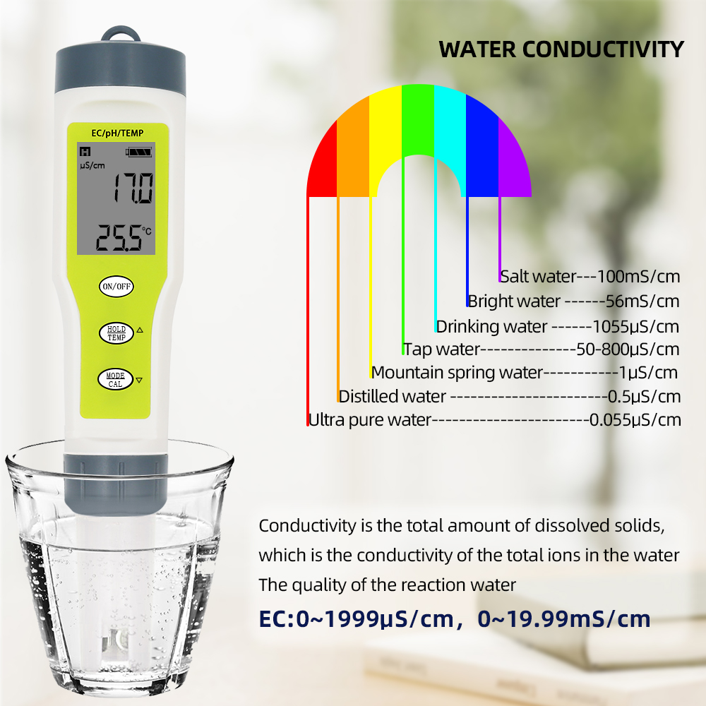PiniceCore 1pc Protable LCD-digital-Meter-Pool-Wasser-Wein-urin Automatische Kalibrierung Mess Digital-Meter-ph High Precision Water Quality Tester