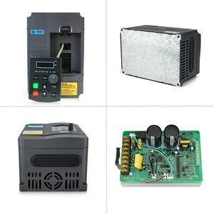 Image 2 - 2.2KW 220V VFD Inverter 3KW 4KW 5.5KW 7.5KW Frequency Inverter Converter 1P input 3P Output 220V For CNC Spindle motor