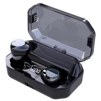 G03 TWS auriculares inalámbricos Bluetooth 5,0 auriculares deportivos con caja de carga pequeño y exquisito toque de reducción de ruido inteligente
