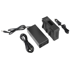 Charger Drone Battery Fast Charging Travel Charger Transport Outdoor Charger for DJI Mavic Air Flight Battery(US Plug)