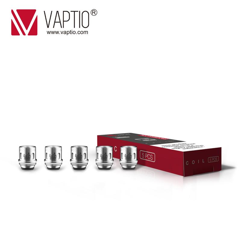 [Special Price 2 Packs $11.99]Vape Coils Vaptio Frogman Coils Kanthal 0.15/0.2/ 0.4ohm Atomizer Head For Frogman Tank 5pcs /pack