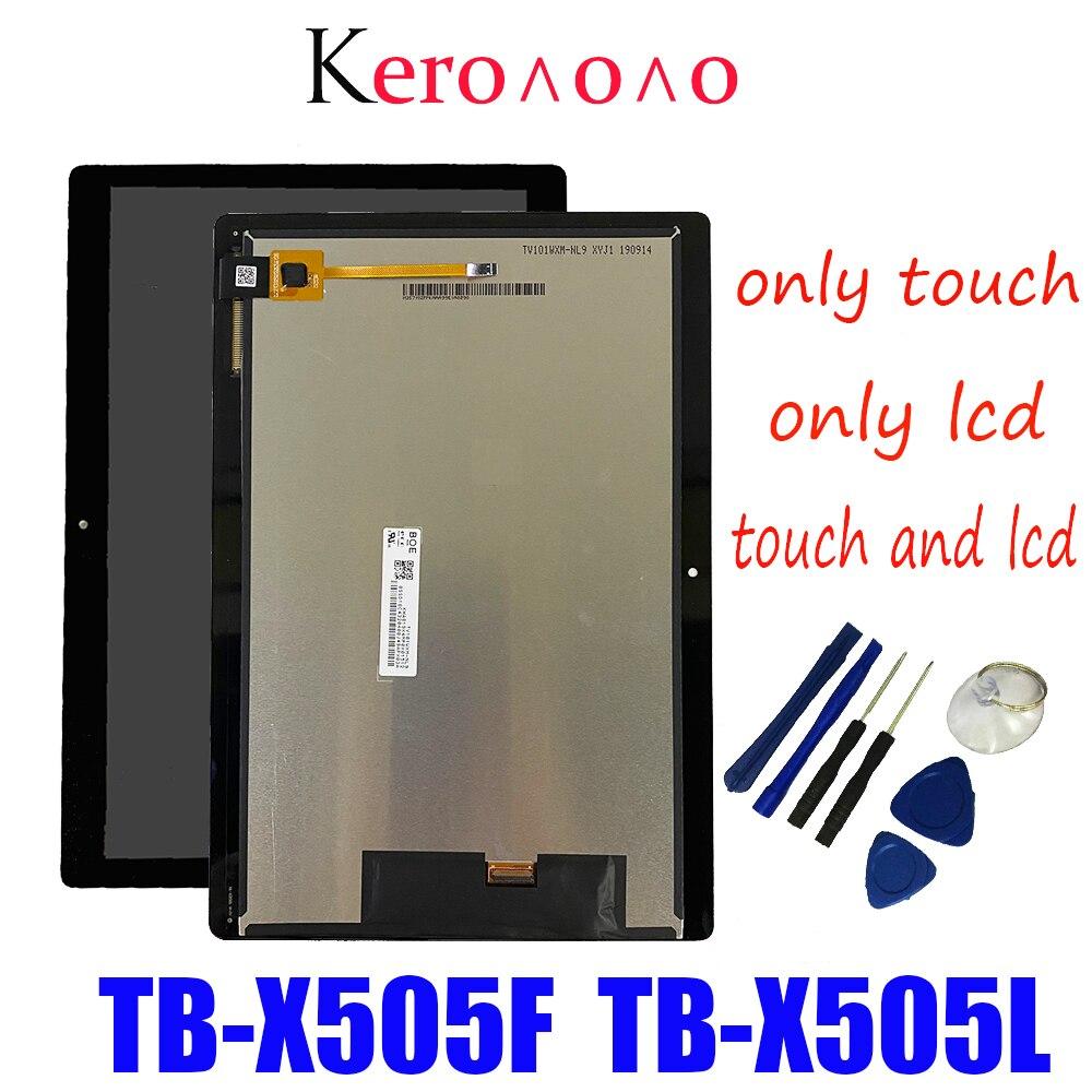 Для Lenovo Tab M10 HD TB-X505 X505F TB-X505L X505 ЖК-экран в сборе 10,1 дюйма ЖК-сенсорный экран