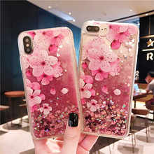For OPPO A3 A5 A3S A7 A31 A33 A37 A53 A57 A39 A59 F1S A71 A77 F3 A73 A79 F5 A83 F7 F9 A7X F11 A9 Pro Quicksand Flower Case Cover(China)